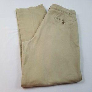 Men's Eddie Bauer Tan Corduroy Pants Size 34 Tall